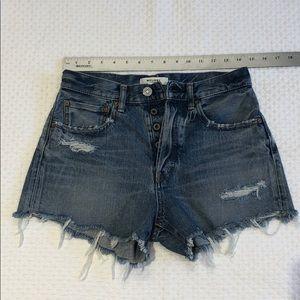 MOUSSY Vintage Denim Shorts 25